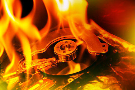 Data Revocery - Fire Damaged